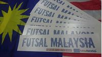 Picture of Futsalworks - Futsal Malaysia Car Sticker (3pcs)